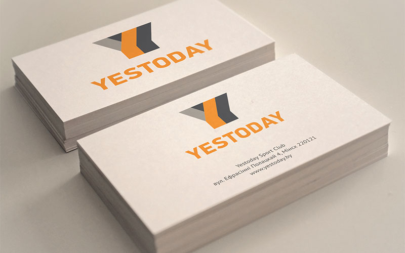 Yestoday branding